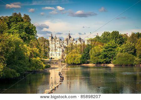 St james park in London, UK