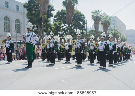 Inglewood High School Band At The Norooz Festival And Persian Parade