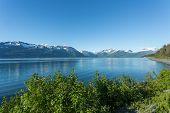 image of arctic landscape  - Landscape view of Alaska - JPG