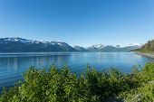 picture of arctic landscape  - Landscape view of Alaska - JPG