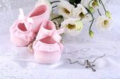 picture of christening  - Baby shoe - JPG