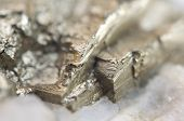 picture of iron pyrite  - Pyrite or iron pyrite is an iron sulfide with the chemical formula FeS2 - JPG