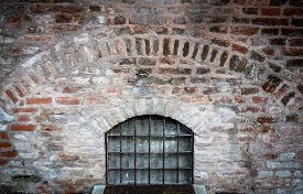 foto of dungeon  - Bars On A Window Of A Medieval Dungeon - JPG