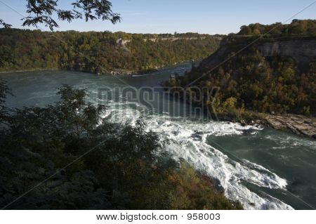 Niagara River - Famous Whirlpool