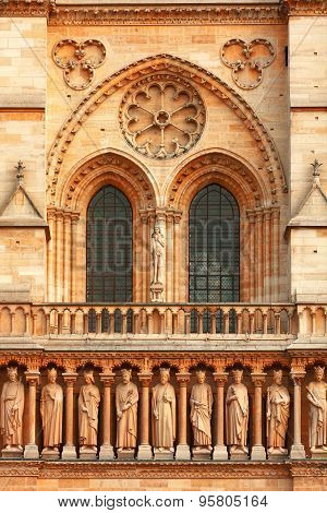Detail Of Notre Dame, Paris