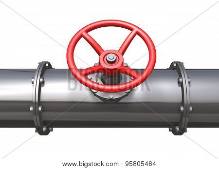 Oil Pipe Line And Valve