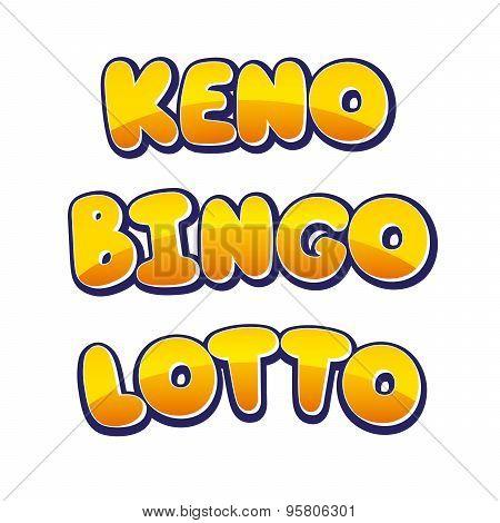 Keno Bingo Lotto