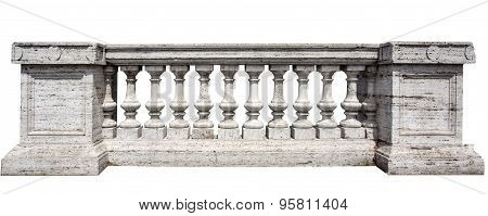 Stone White Baluster