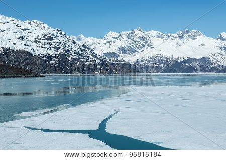 Icy Glacier Bay