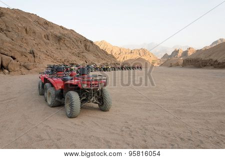 Atv Safaris. Excursions In Egypt