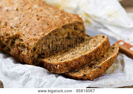Home-made Bread With Bran