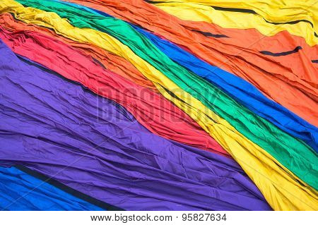 pattern of hot air balloon nylon envelope