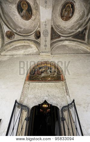 Entrance To Saint George Church - Bucharest, Romania