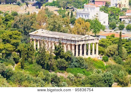 Temple Of Apollo Patroos, Athens