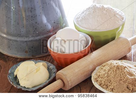 Some Ingredients For Baking