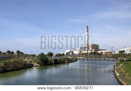 Reading Power Station On The River Yarkon, Tel Aviv