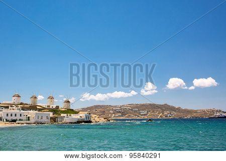 Mykonos Island, Greece, landscape