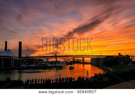 Cuyahoga Solstice