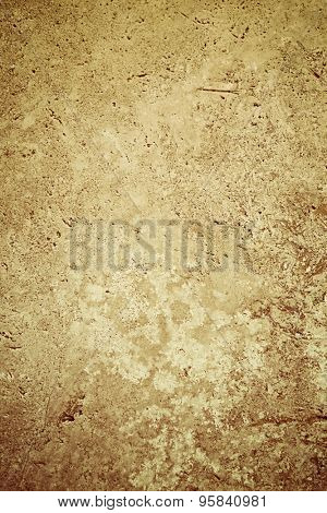 Natural rustic stone surface (travertine)