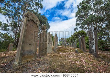 Port Arthur graveyard