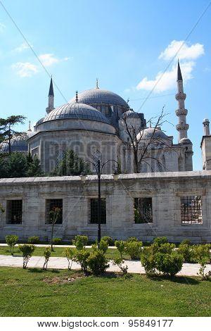 Suleimanie Mosque In Istanbul