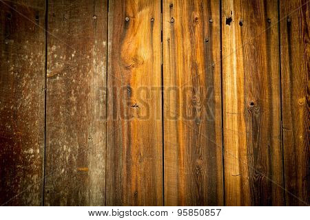 Old Brown Wooden Surface Texture For Background