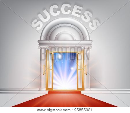 Success Red Carpet Door