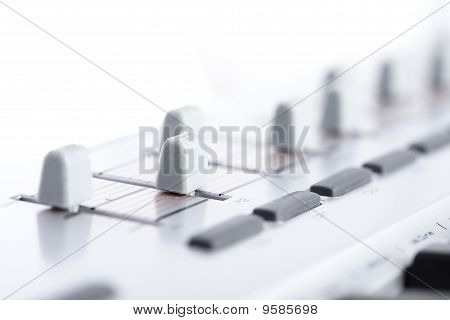 Faders Closeup