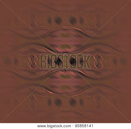 Seamless pattern brown