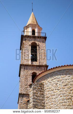 Catholic Church. Sartene, South Corsica, France