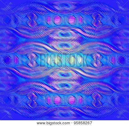 Seamless pattern blue purple