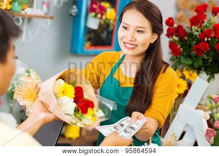 Selling Flowers