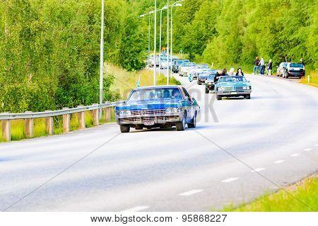 Chevrolet Caprice Blue 1966