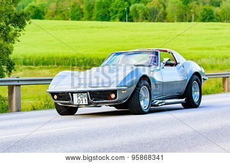 Chevrolet Corvette Grey 1968