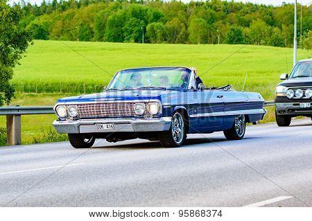 Chevrolet Impala Blue 1963