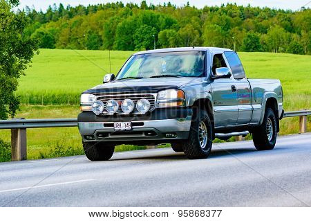 Gmc Ext Duramax Brown 2001
