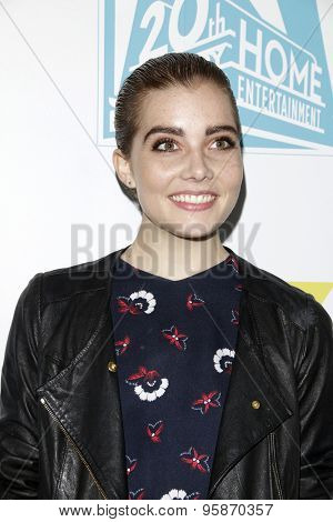 SAN DIEGO - JUL 10:  Elise Eberle at the 20th Century Fox Party Comic-Con Party at the Andaz Hotel on July 10, 2015 in San Diego, CA