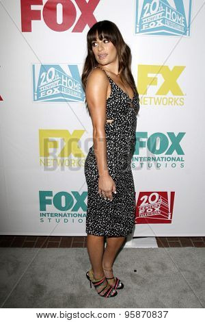 SAN DIEGO - JUL 10:  Lea Michele at the 20th Century Fox Party Comic-Con Party at the Andaz Hotel on July 10, 2015 in San Diego, CA