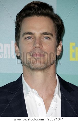 SAN DIEGO - JUL 11:  Matt Bomer at the Entertainment Weekly's Annual Comic-Con Party at the Hard Rock Hotel on July 11, 2015 in San Diego, CA