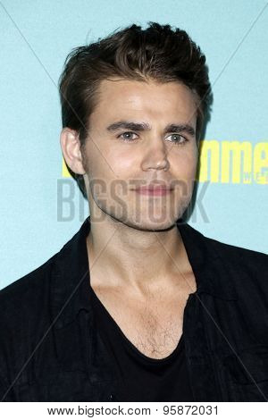 SAN DIEGO - JUL 11:  Paul Wesley at the Entertainment Weekly's Annual Comic-Con Party at the Hard Rock Hotel on July 11, 2015 in San Diego, CA