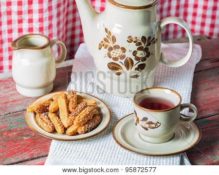 Afternoon Tea And Biscuits