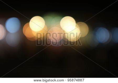 Abstract background with blurry light