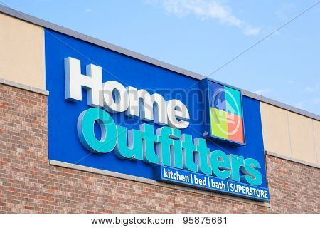 Home Outfitters Sign