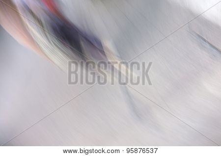 Abstract background of human walk in motion