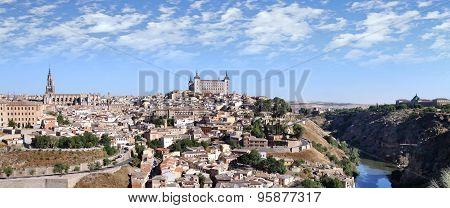 View Of The Historic City Of Toledo
