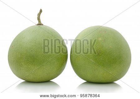 Two Pomelo Fruit, Fruit Thailand