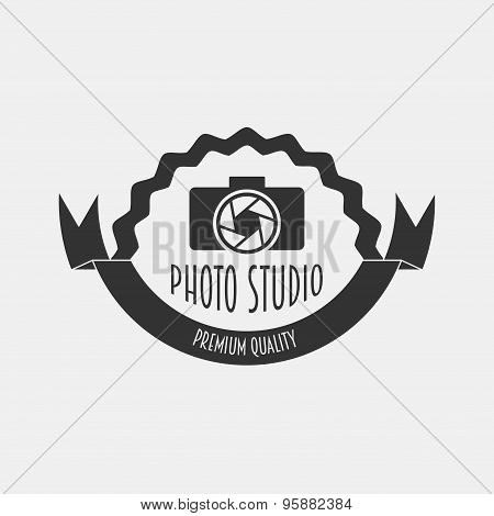 Foto Studio Logo. Foto Studio Emblem. Photo Studio Logo   Fotostudio Emblem, Logo. Can Be Used To De