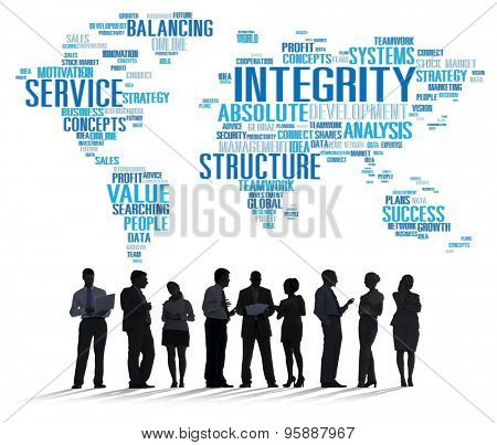 Integrity Honesty Sincerity Trust Reliability Concept