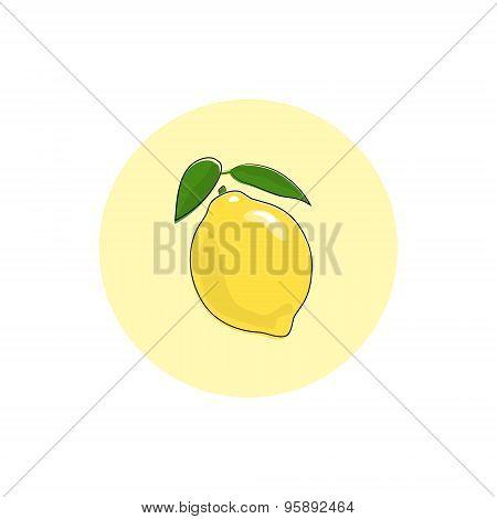 Icon Colorful Lemon