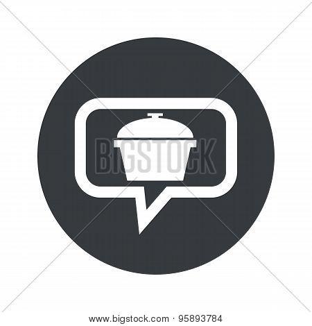 Round pot dialog icon
